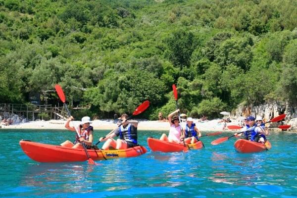 Things to do in Rabac Croatia | Kayaking