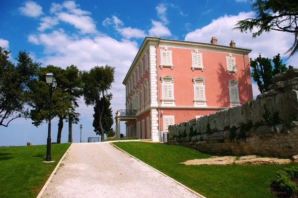 Things to do in Porec | Some events are held in beautiful Villa Polesini
