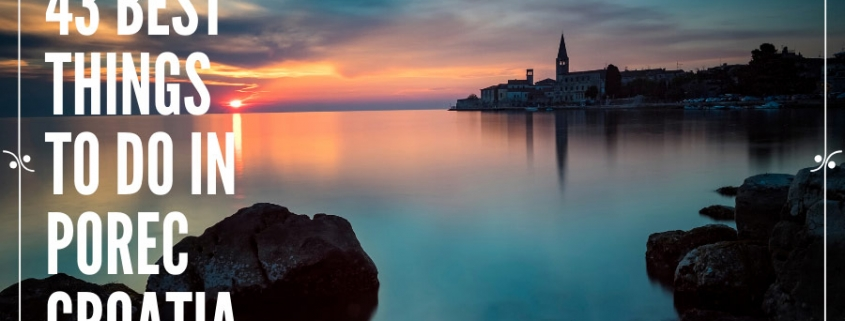 Things to do in Porec Croatia, Illustration