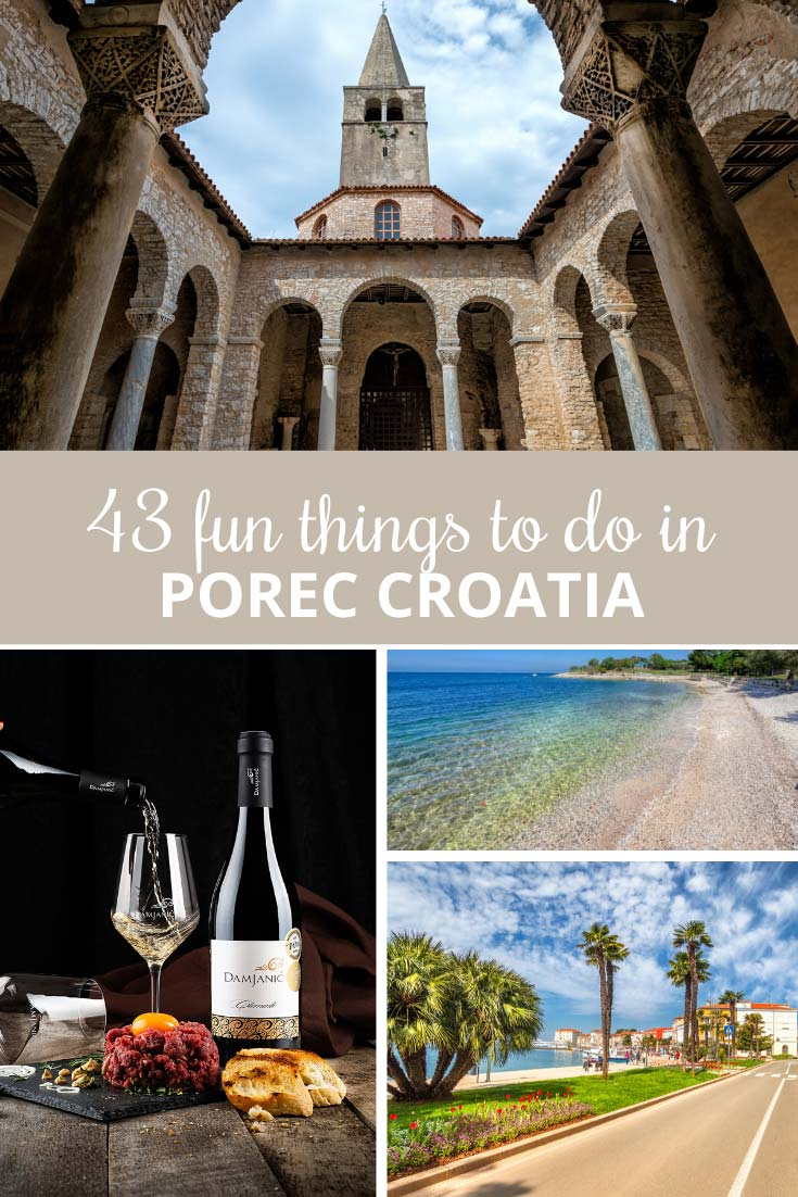 What to do in Porec pin
