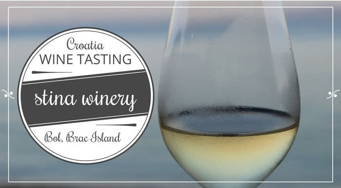 Stina Winery Bol Brac Island | Croatian Wines
