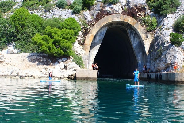 Things to do on Brac Island | Swim in a submarine pen