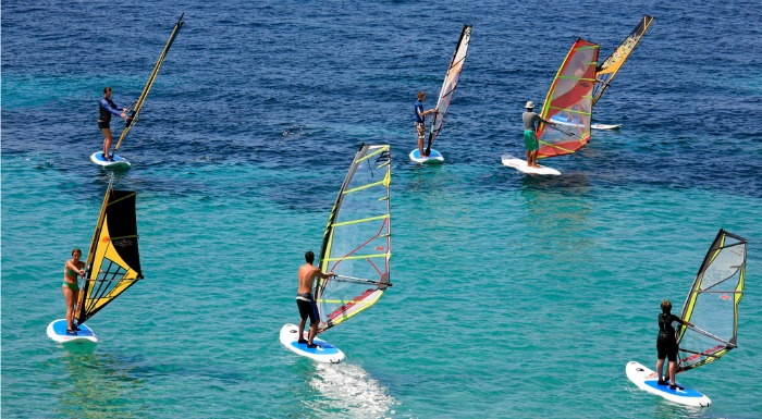 Things to do on Brac Island | Windsurfing