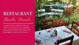 Restaurant Barba Danilo Rovinj