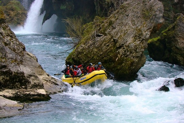 White water rafting in Croatia | River Korana