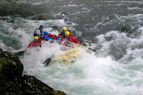 White water rafting in Croatia | River Kupa