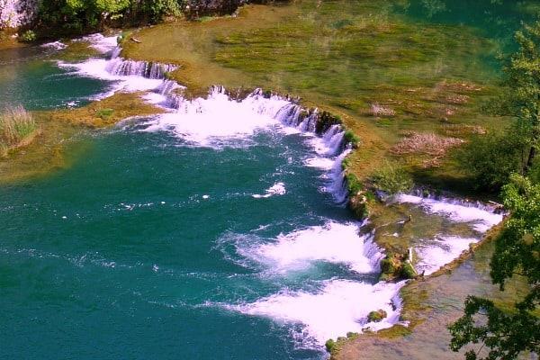 White water rafting in Croatia   River Mreznica