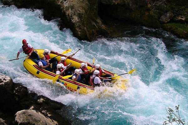 White water rafting in Croatia | River Zrmanja