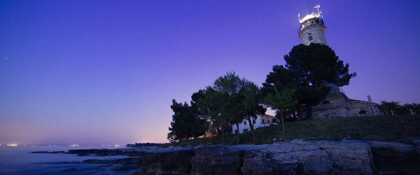 Savudrija Lighthouse is a perfect setting for an Istria Inspirit Event