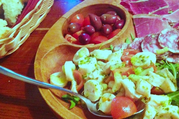 Valle Losca Opatija | Plate of cold starters