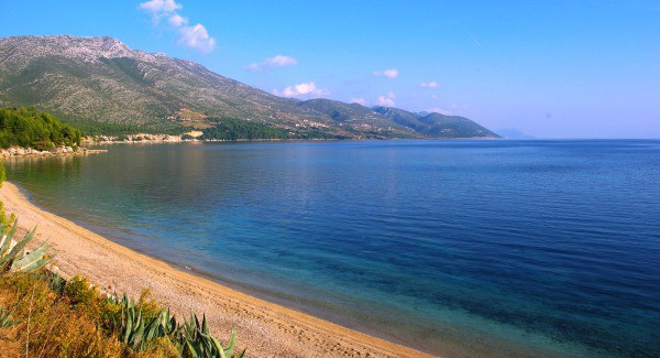 Best Beaches On The Peljesac Peninsula | Trstenica Beach