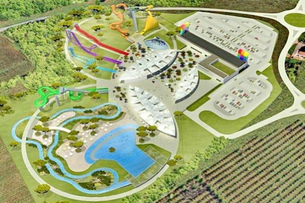Aquacolors Porec Water Park | Map of the park