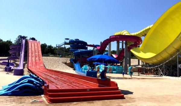 Aquacolors Porec Water Park | Water Slides