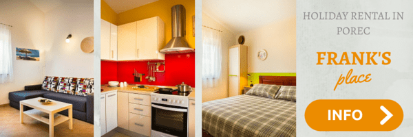Our apartment in Porec - Click on a photo to find out more