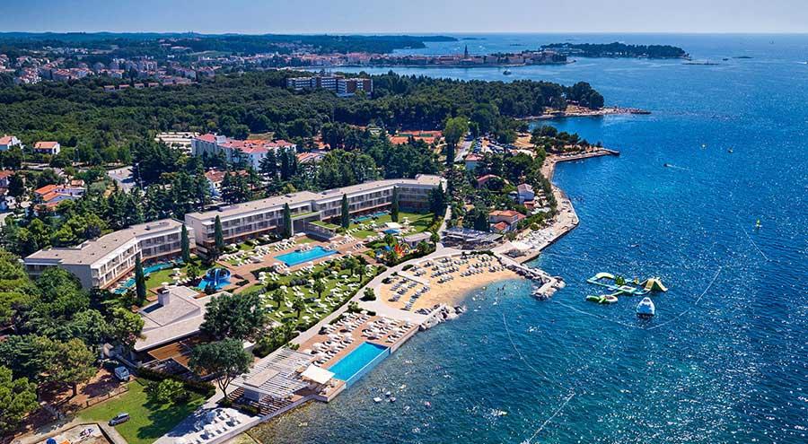 Spadici beach from the air