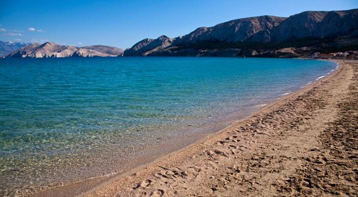 Beaches In Croatia | Vela Plaza Beach, Krk