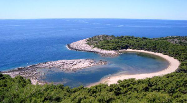 Beaches In Croatia | Beach Saplunara, Mljet