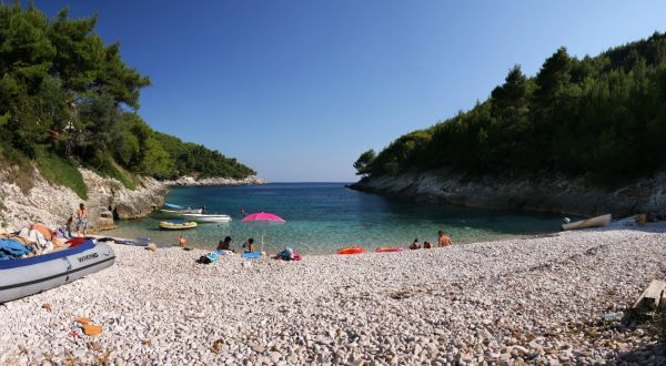Beaches In Croatia | Beach Bratinja Luka, Korcula