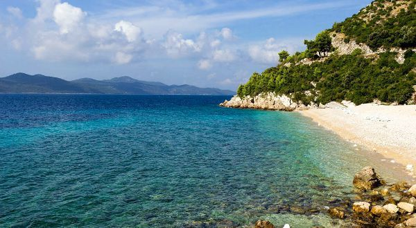 Beaches In Croatia | Beach Veliki Zal, Brsecine