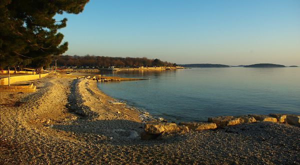 Beaches In Croatia | Beach Delfin, Porec