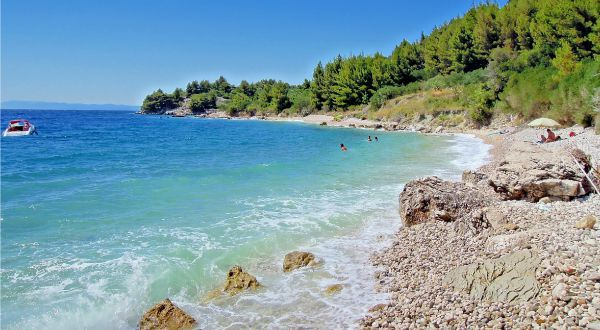 Beaches In Croatia | Beaches East of Drasnice | Photo credit: Tempet Makarska
