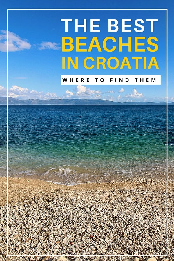 Beaches in Croatia | Croatia Travel Guide