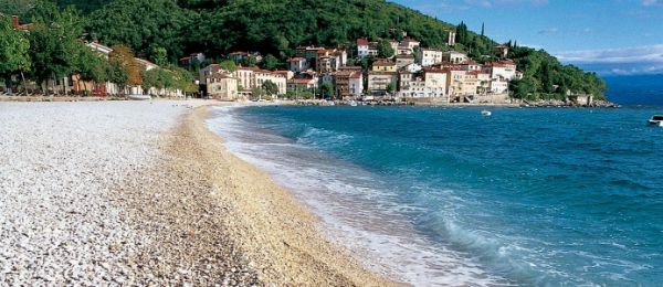 Beaches In Croatia | Beach in Moscenicka Draga