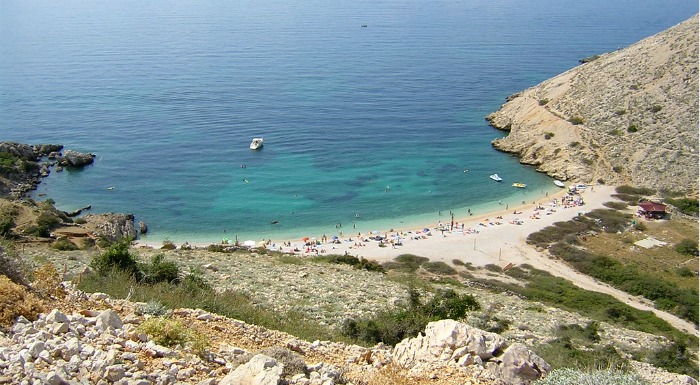 Beaches In Croatia | Oprna Beach, Krk