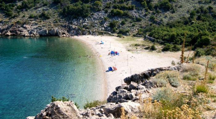 Beaches In Croatia | Potovosce Beach, Krk Island