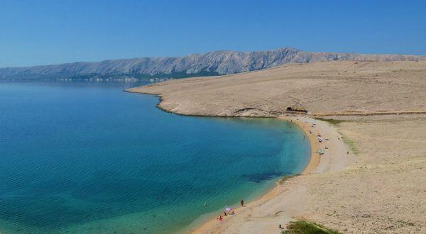 Beaches In Croatia | Rucica, Pag