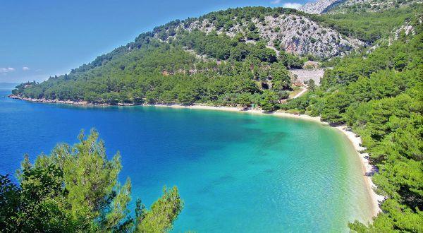 Beaches In Croatia | Beach Vela Duba, Zivogosce