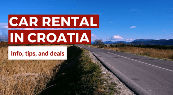 Car Rental In Croatia