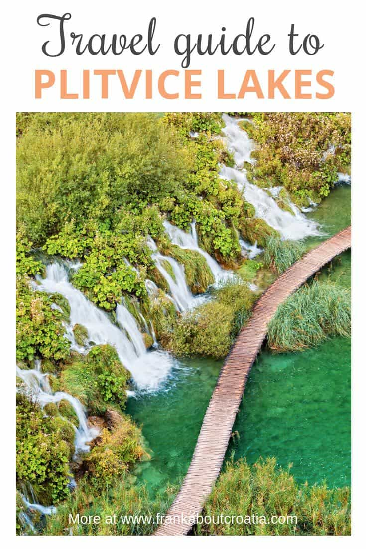 A Complete Travel Guide To Plitvice Lakes | Pin Me For Later!