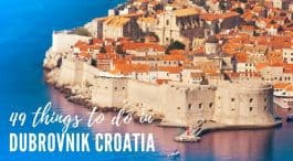Things To Do In Dubrovnik in 2018