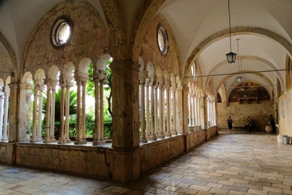 Cloister of the Franciscan Monastery Dubrovnik