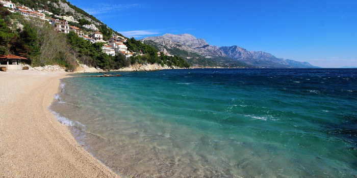 Where To Go In Croatia | Dalmatian Coast is full of beautiful pebbly beaches
