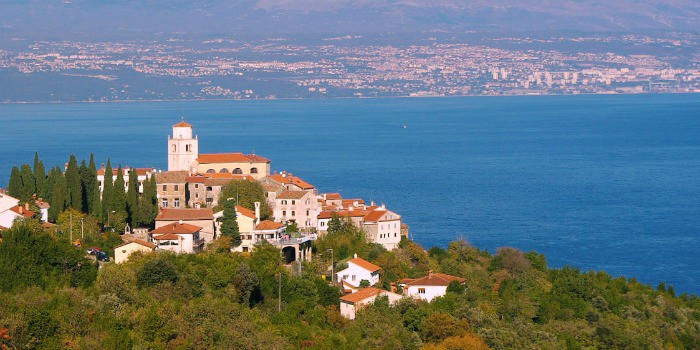14 enchanting villages in Croatia|Moscenice in Croatia
