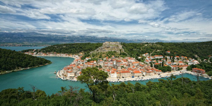 14 enchanting villages in Croatia|Novigrad Dalmatinski in Croatia