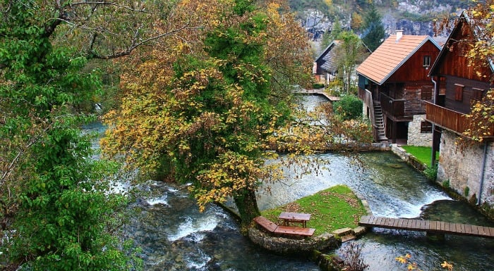 14 enchanting villages in Croatia|Rastoke in Croatia