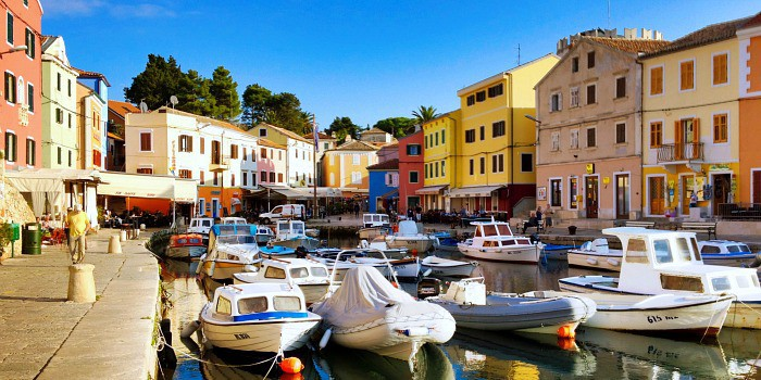 14 enchanting villages in Croatia|Veli Losinj in Croatia