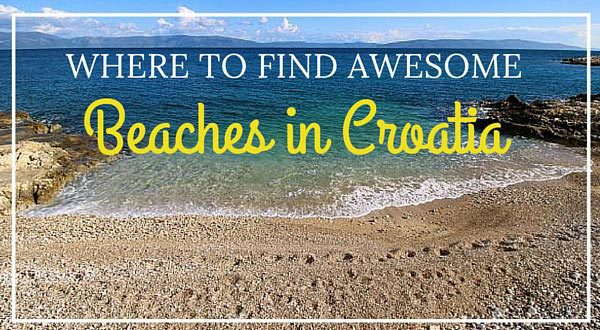Beaches in Croatia