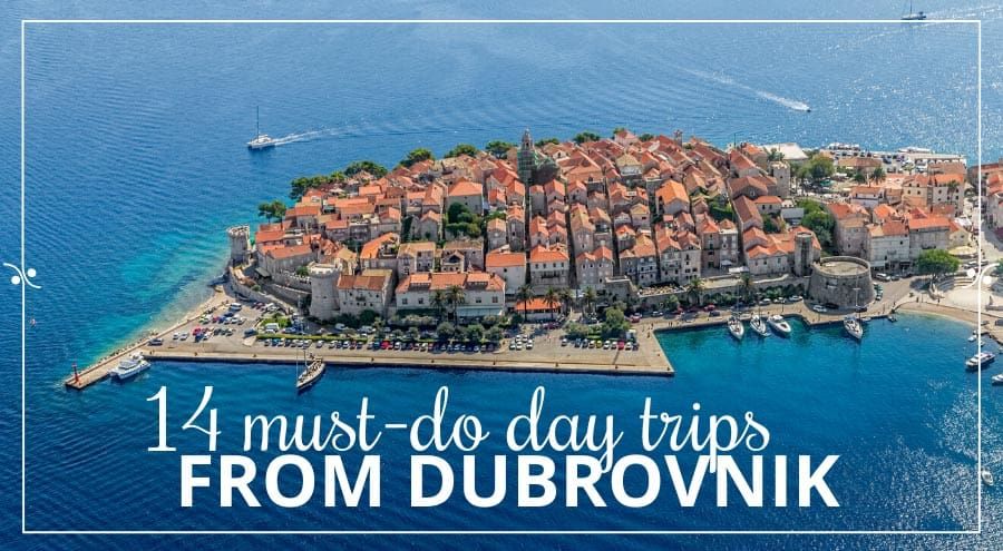 14 Day Trips From Dubrovnik, Illustration