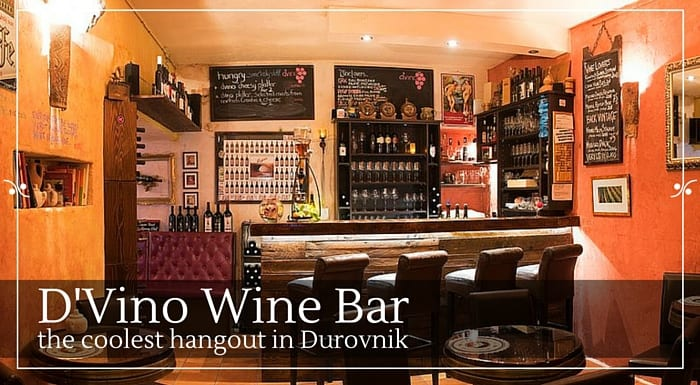 D'Vino Wine Bar In Dubrovnik |Croatia Travel Guide & Blog