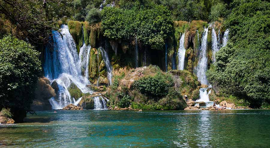 Kravice Waterfalls in Bosnia