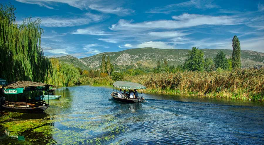 Neretva River, traditional boat trip