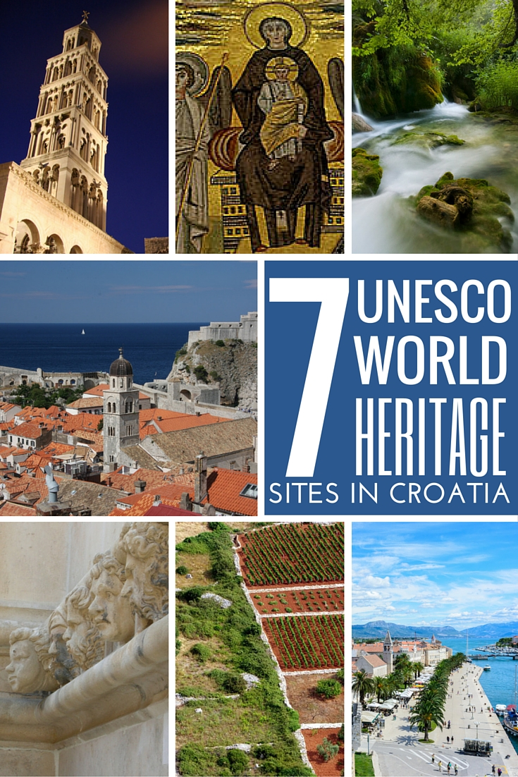unesco world heritage sites in croatia croatia travel guide