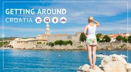Getting around Croatia