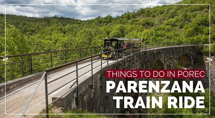 Parenzana Train Ride Porec