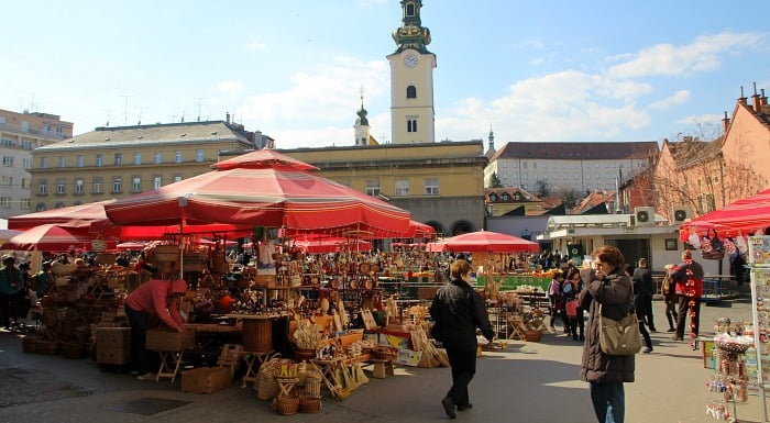 Zagreb Travel Blog: Things To Do In Zagreb |Dolac Market