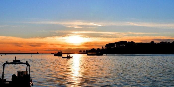 Panasonic Lumix GF7 Review |Sunset in Porec, Croatia